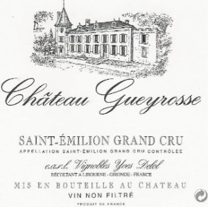chateau gueyrosse les vignes de chante alouette 2009 vin champagne