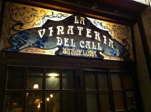 Barcelone - La Vinateria del Call