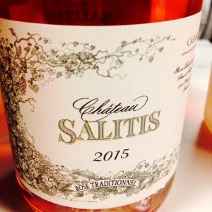 Languedoc - Cabardès - Château Salitis - Cuvée Rosé Traditionnel - 2015