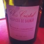 Saumur Champigny - Clos Cristal - Hospices de saumur - 2011 - Insta