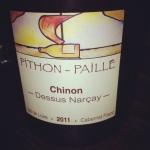 Chinon - Pithon-Paillé - Dessus Narçay - 2011 - Insta
