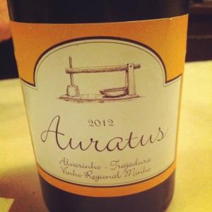 Portugal - Auratus Alvarinho - Trajadura, Vinho Regional Minho - Insta
