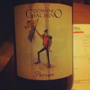 Savoie - Domaine Giachino - Persan - 2012 - Insta