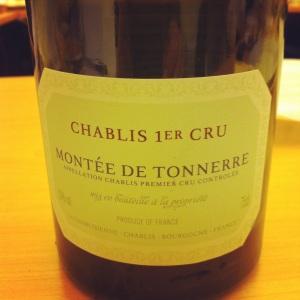 Chablis 1er Cru - Montée de Tonnerre - La Chablisienne - 2010 - 02 - Insta