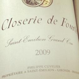 Saint Emilion - Clorerie du Clos Fourtet - 2009