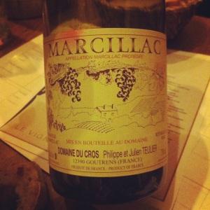 Marcillac - Domaine du Cros - Insta