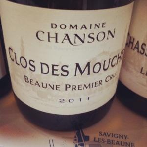 Beaune Premier Cru - Domaine Chanson - Clos des Mouches - 2011 - Insta