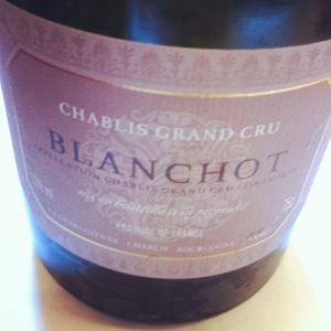Chablis Grand Cru - La Chablisienne - Blanchot - 2011 - Insta