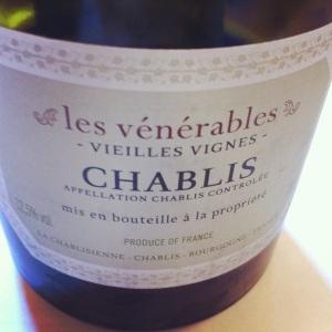 Chablis - La Chablisienne - Les Vénérables - 2011 - Insta