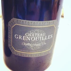 Chablis Premier Cru - Château Grenouilles - 2011 - Insta