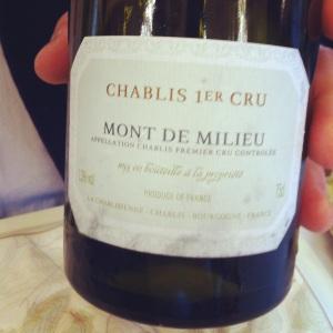 Chablis Premier Cru - La Chablisienne - Mont de Milieu - 2011 - Insta