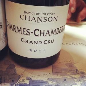 Charmes-Chambertin Grand Cru - Domaine Chanson - 2011 - Insta