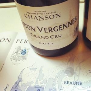 Corton Vergennes Grand Cru - Domaine Chanson - 2011 - Insta