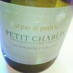 Bourgogne – Petit Chablis – Pas si petit – La Chablisienne – 2012