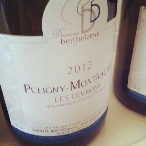 Puligny-Montrachet - Domaine Berthelomot - Les Levrons - 2012 - Insta