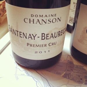 Santenay-Beauregard Premier Cru - Domaine Chanson - 2011 - Insta