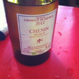 Saumur - Vignoble de l'Hopsice de Saumur - Chenin - 2012 - Insta