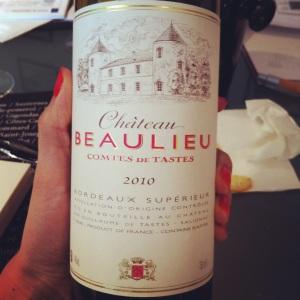 Bordeaux Supérieur - Château Beaulieu - 2010 - Insta