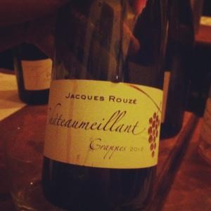 Chateaumeillant - Domaine Jacques Rouzé - Cuvée Grappes - 2012 - R - Insta