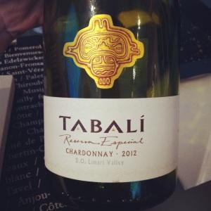 Chili - Limari Valley - Tabali - Chardonnay - 2012 - Insta