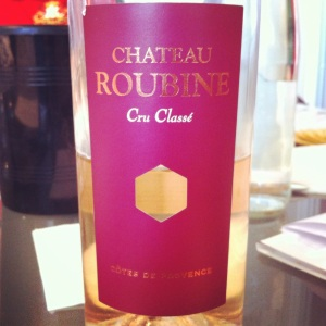 Cotes de Provence - Château Roubine - 2013 - Insta