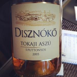 Hongrie - Tokaji Aszù - Diznoko - 2005 - Insta