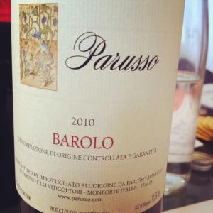 Italie - Barolo - Parusso - 2010 - Insta