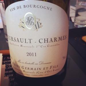 Meursault 1er Cru - H.Germain & Fils - 2011 - Insta
