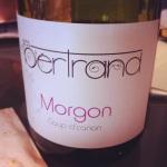 Beaujolais – Morgon – Les Bertrand – Cuvée Coup de Canon – 2012