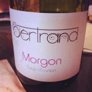 Morgon - Les Bertrand - Cuvée Coup de Canon - 2012 - Insta