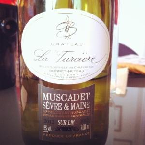 Muscadet sur lies SevresMaine - Château La Tarcière - 2012 - Insta