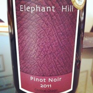 New Zealand - Elephant Hill - Pinot Noir - 2011 - Insta