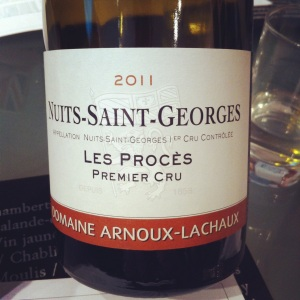 Nuit-Saint-Georges - Arnaud Lachaux - 2011 - Insta