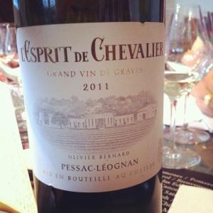 Pessac-Léognan - L'Esprit de Chevalier - Second vin du Domaine de Chevalier- 2011 (B) - Insta