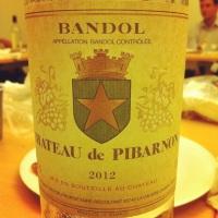 Bandol - Château de Pibarnon - 2012 - Insta