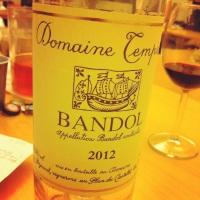 Bandol - Domaine Tempier - 2012 - Insta