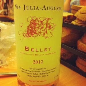 Bellet - Via Julia-Ausgusta - Nicolas & Robert Cohendet - 2012 - Insta