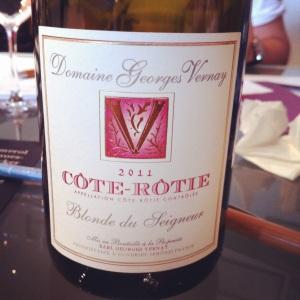 Côte-Rôtie - Domaine Georges Vernay - Blonde du Seigneur - 2011 - Insta