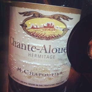Hermitage - M.Chapoutier - Chante-Alouette - 2011 - Insta