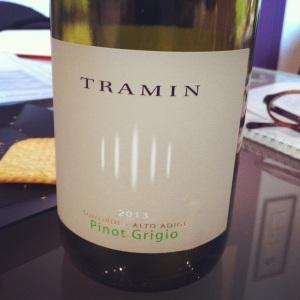 Italie - Tramin - Pinot grigio - 2013 - Insta