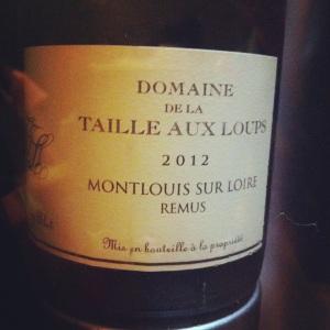 Montlouis-sur-Loire - Domaine de la Taille aux Loups - Cuvée Remus - 2012 - Insta
