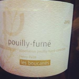 Pouilly-fumé - Henry Pellé - Cuvée les boucanés - 2012 - Insta