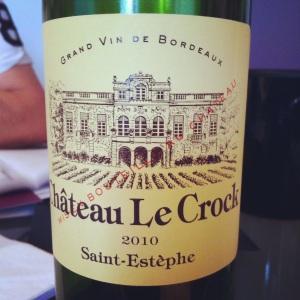 Saint-Estèphe - Château Le Crock - 2010 - Insta