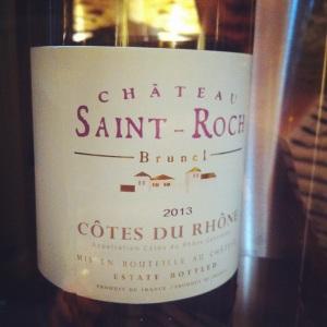 Côtes du Rhône - Château Saint-Roch - 2013 (blanc)-Insta