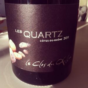 Côtes du Rhône - Clos du Caillou - Quartz - 2011 - Insta