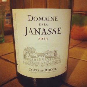 Côtes du Rhône - Domaine de la Janasse - 2013 - blanc - Insta