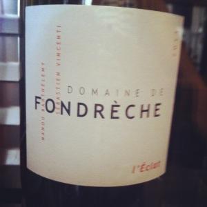 Côtes du Ventoux - Domaine Fondrêche - L'Eclat - 2013 (blanc)-insta