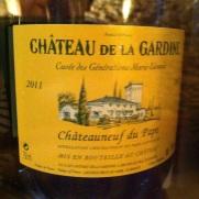 Châteauneuf-du-pape - Château la Gardine - Cuvée des Générations Marie-Leoncie - 2011 (blanc)-Insta