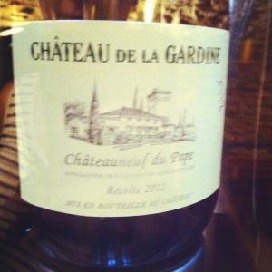 Châteauneuf-du-Pape - Château la Gardine - Cuvée Tradition - 2012 - Blanc-Insta