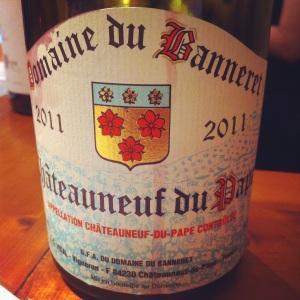 Châteauneuf-du-pape - Domain du Banneret - 2011 (rouge)-Insta